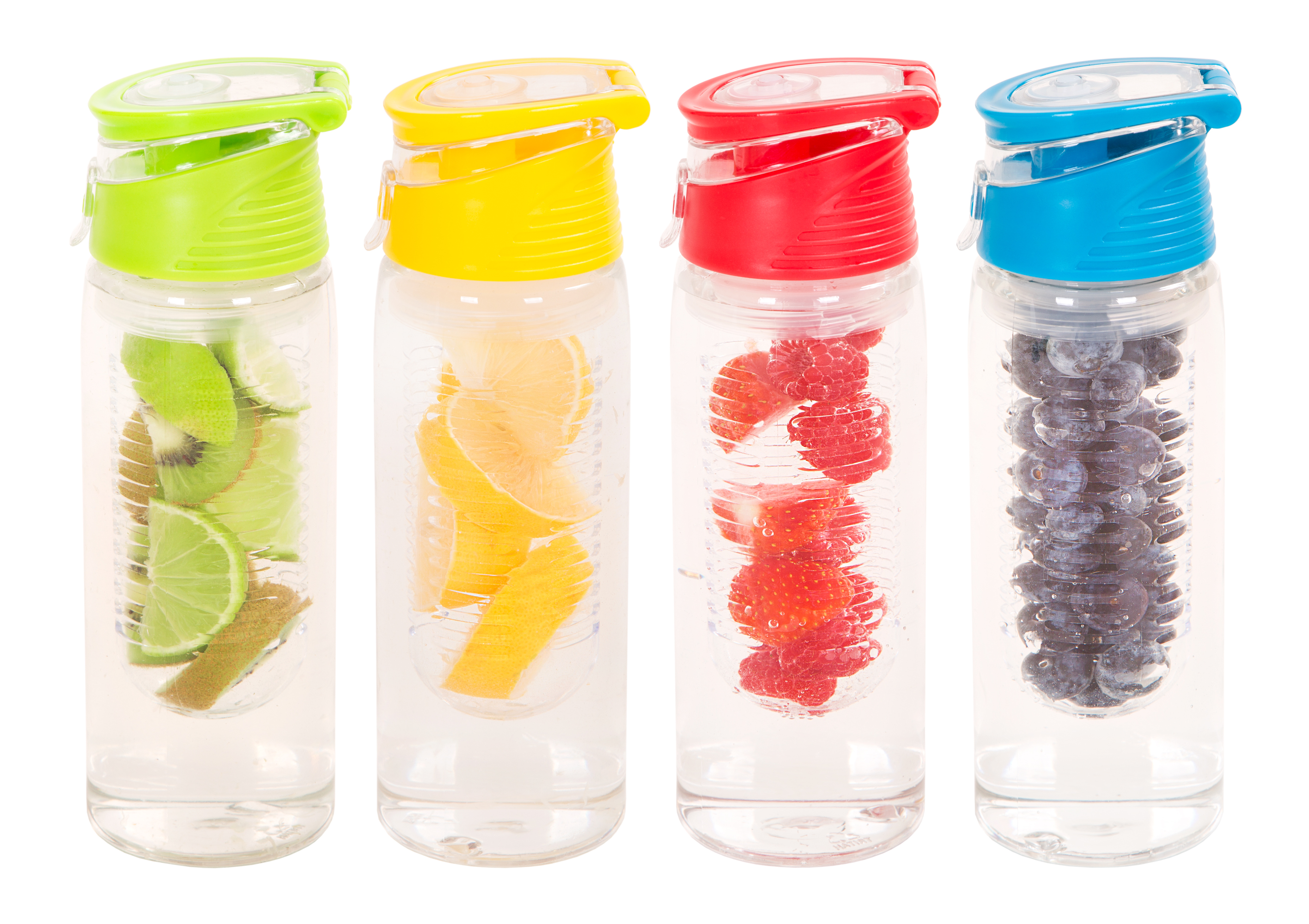 Infuser Tritantm Drinks Bottle 750ml Assorted 20097 What More Uk New Tritan Infusd Water