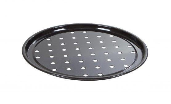 Durable glossy vitreous enamel coated Pizza Tray