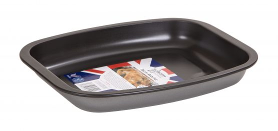 Double non-stick coated 0.3 gauge steel Roasting Tin