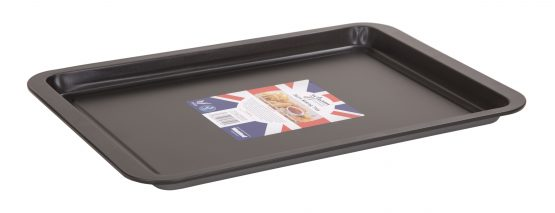 Double non-stick coated 0.3 gauge steel Baking Tray
