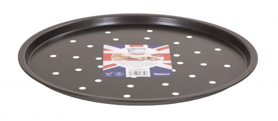 Double non-stick coated 0.3 gauge steel Pizza Tray