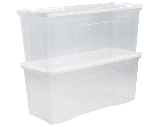 Crystal 133l Box Lid Clear 14100 What More Uk