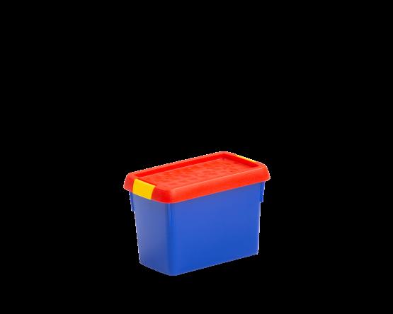 1 02 Wham Clip 400ml Box Amp Lid Blue Red Yellow 19630