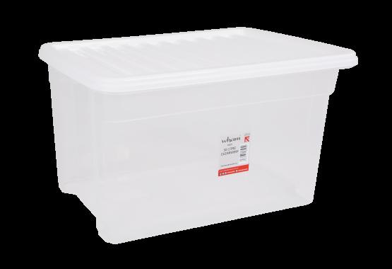 A High Quality 50L Clear Storage Box
