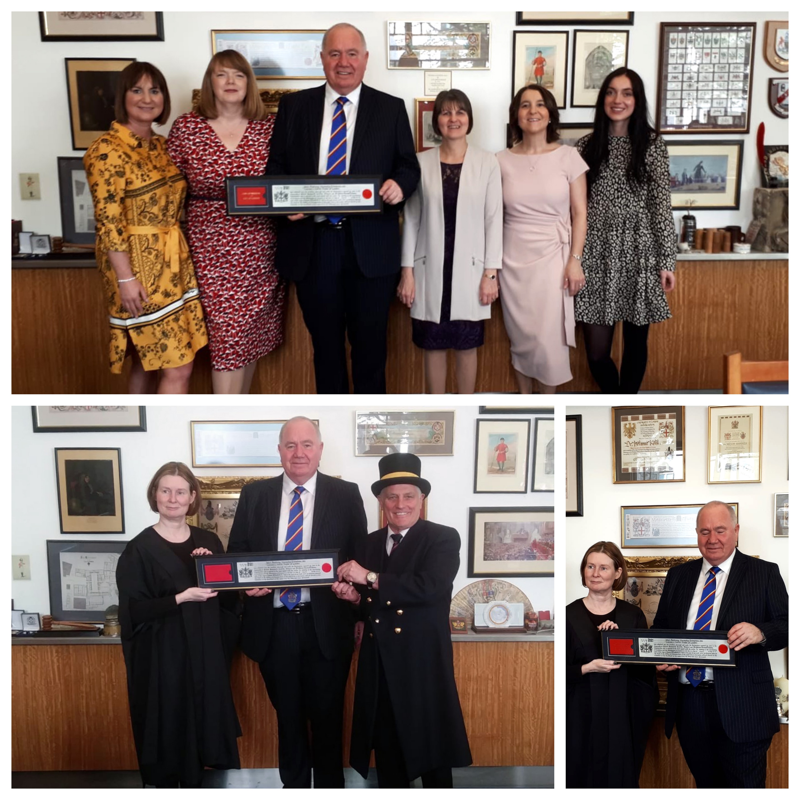 19ccc64117f What More UK Director Presented with Freedom of the City of London