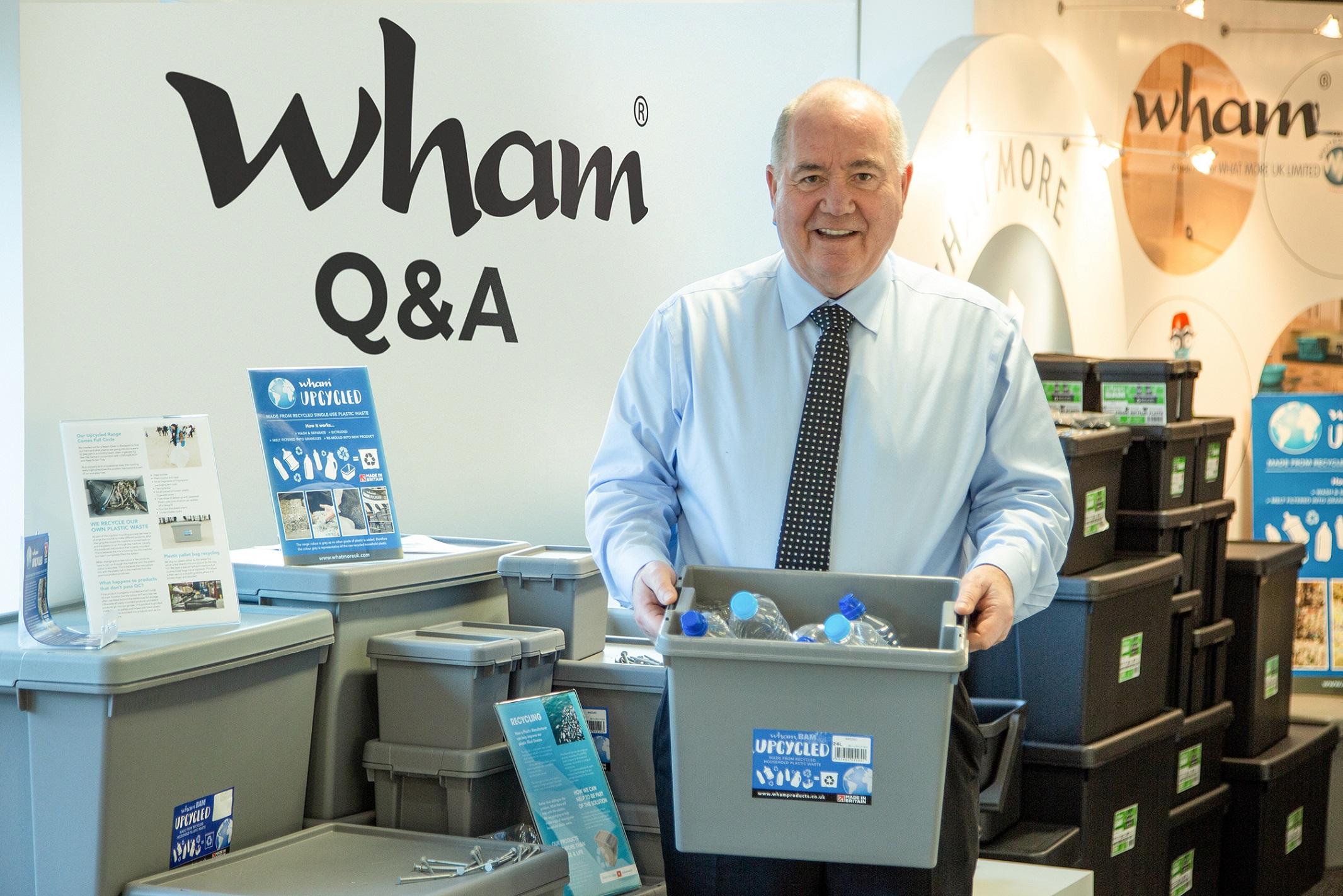 Tony Grimshaw Upcycled Plastic Boxes